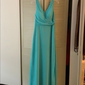 Azazie nala gown in color spa